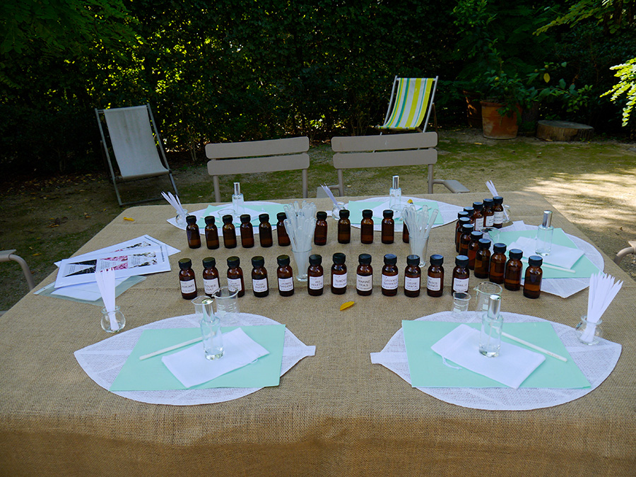 Créer votre Parfum à Grasse (côte d'Azur)